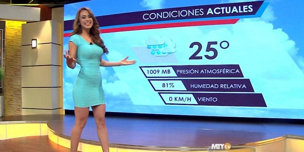 Yanet garcia, présentatrice météo sexy