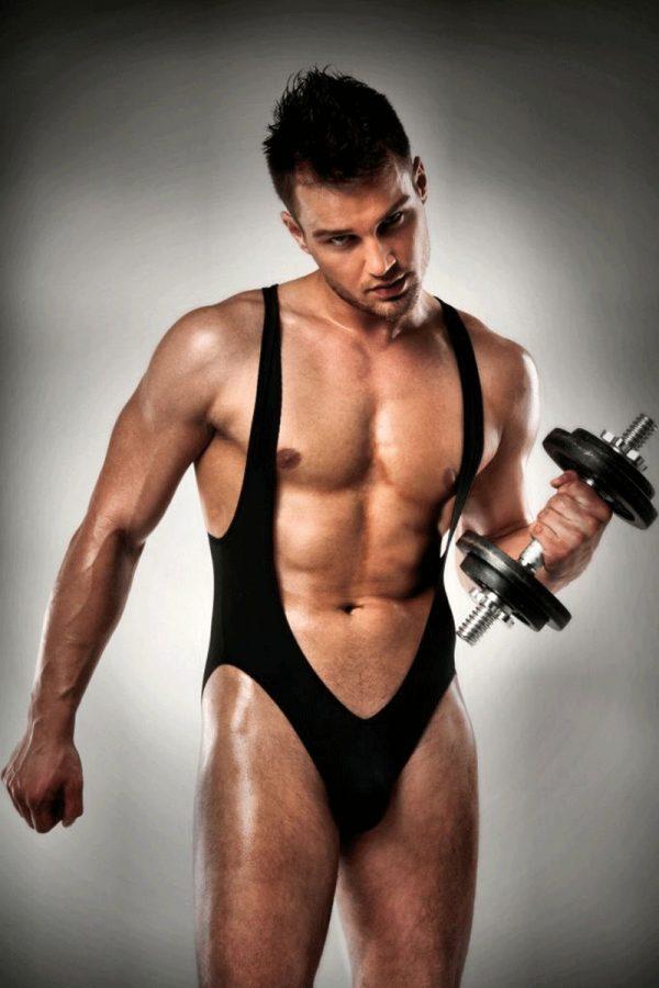 Body jock noir de passion men, une lingerie sexy pour homme très chic pour séduire